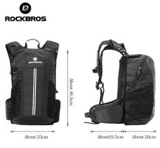 ROCKBROS MTB Outdoor Equipment Rainproof Bicycle Camping Hiking Backpacks - $89.89
