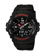 Casio Men's G-Shock Black Classic Ana-Digi Watch G100-1BV - $63.16