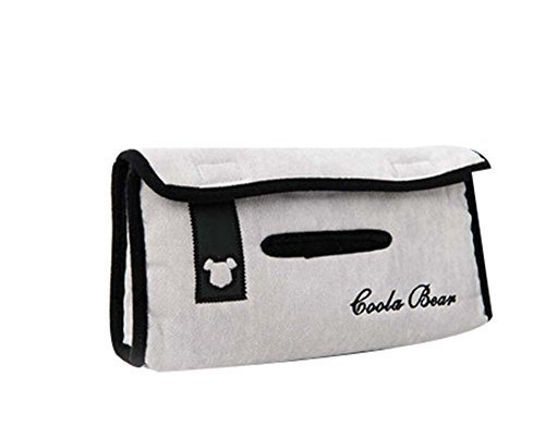 Creative Car Tissue Box Hanging Tissue Box Auto Supplies Tissue Box Paper Bag