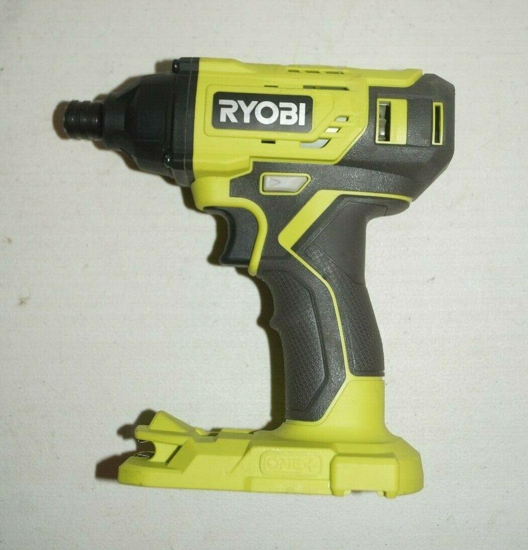 Ryobi One+ 18V Cordless 1/4 Inch Impact Driver P235AVN BARELY USED - $37.62
