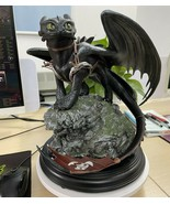 How to train your Dragon Toothless Big size Action figure model Statue K... - $584.10