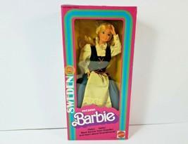 Swedish Barbie Famous International Fashion Doll Scandinavia 1982 New In Box NIB - $24.74