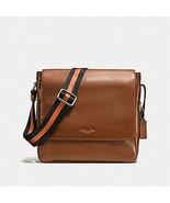 Men's COACH Metropolitan Map Bag Sport Crossbody Calf Leather Uni-Sex  7... - $139.89