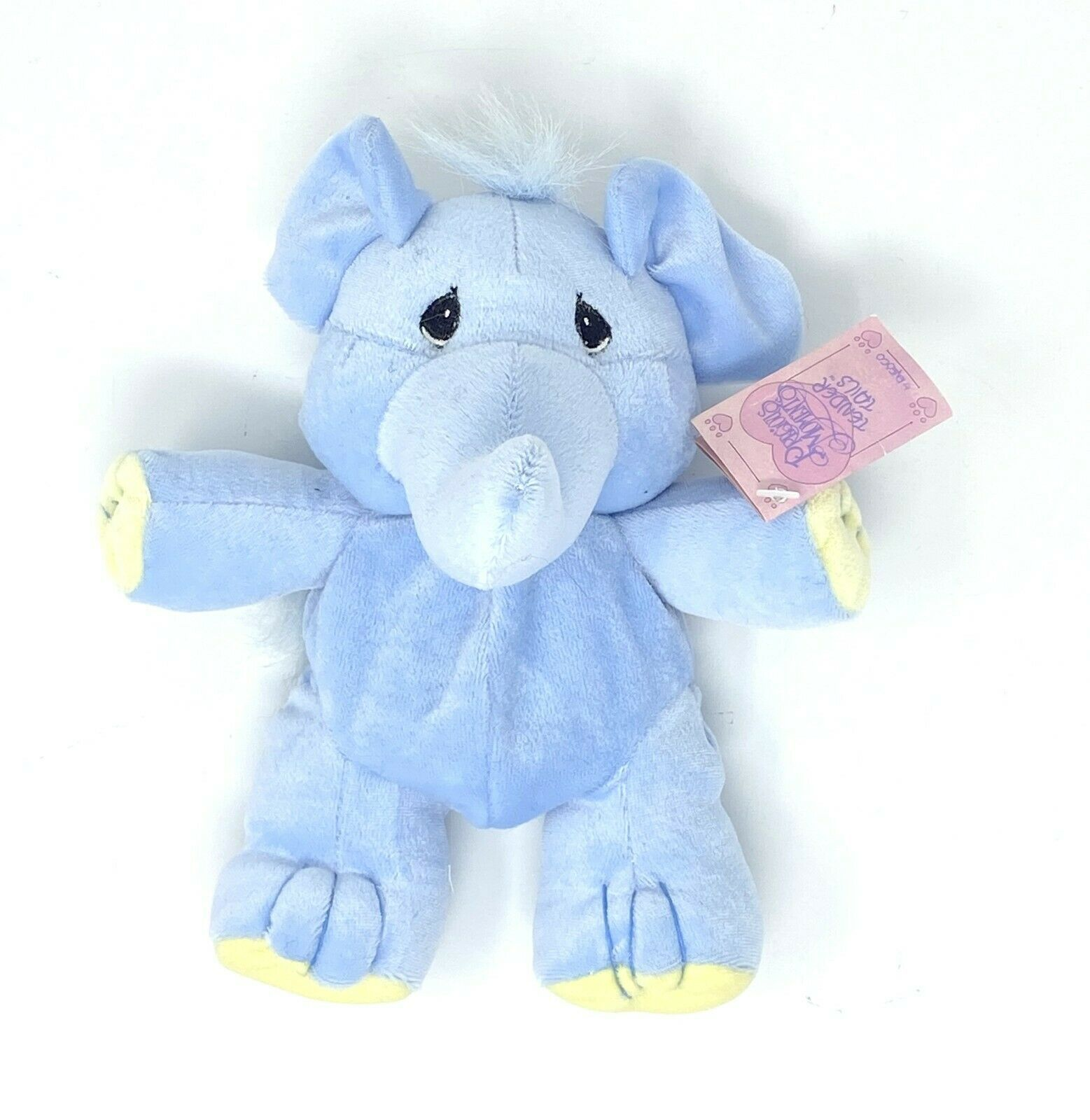 "Primary image for NEW Enesco Precious Moments Tender Tails Elephant  8"" Plush Stuffed Animal"