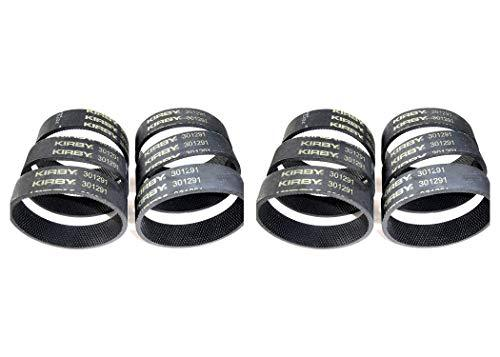 Kirby 6 301291 Vacuum Cleaner Belts Fits Systems Made After 1970,Pack 2, Black - $26.00