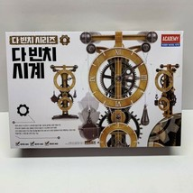 New Leonardo da Vinci Machines Series Clock #18150 ACADEMY HOBBY MODEL KITS - $19.77
