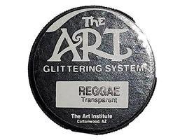 The Art Institute Glittering System Reggae Transparent Glitter image 3