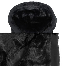 EKZ Men's Graphic Geo Tribal Fleece Lined Zip Up Sherpa Hoodie Jacket image 10