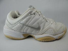 Nike City Court V US 8M (B) Eu 39 Mujer Tenis Zapatos Salón Blanco 386351-103 - $30.08