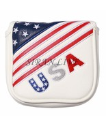 Golf Square Large Mallet Putter cover club headcover magnetic closure for - $26.39