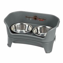 Elevated Dog and Cat Bowls Raised Pet Dish Stainless Steel Food Water Bowls - $66.47