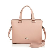 NWT LONGCHAMP Honore 404 Leather Satchel Shoulder Crossbody Bag PINKY FR... - $418.60