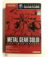 Nintendo Game Cube METAL GEAR SOLID The Twin Snake From Japan Official I... - $366.29