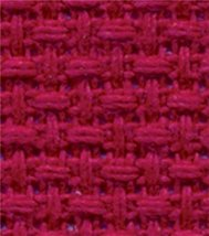 Charles Craft Regency Aida 14 Count 12 Inch X 18 Inch - Red - $17.26