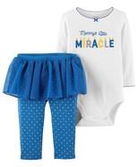 NEW NWT Carters Girls Hanukkah Set Pants Bodysuit Newborn 3 6 9 12 18 24... - $12.99