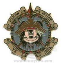 Disney Pin 58345 Pirates Castaway Cay Promotion Mickey Captain Jack Spar... - $74.76