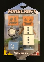 Minecraft Comic Maker Snow Golem Action Figure - £15.24 GBP