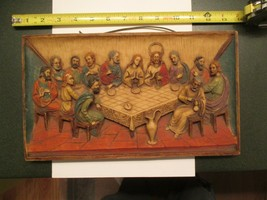 The Last Supper Roman Italy 3D Picture Wall hanging - $13.99