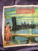 Vintage London by Night by Blackstaff Pure Irish Linen Towel Art image 2
