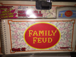 NEW SEALED FAMILY FEUD CARTRIDGE & BOOK #3 BY TIGER GAMES, FOR ELECTRONI... - $13.00