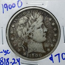 1900O Silver Barber Half Dollar Coin Lot A 186