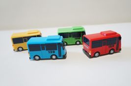 Tayo Special Pull Back Little Small Mini Toy Bus Car Vehicle 4 Pieces Set image 4