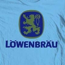Lowenbrau Beer T-shirt retro German bar 100% cotton graphic printed tee image 1