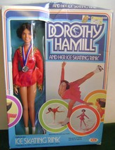 Ideal~Dorothy Hamill~Ice Skating Rink~Mint Doll Sealed In Original Box~NRFB~1977 - $37.39