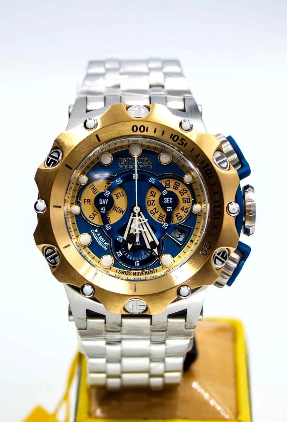 45c97273bdc Invicta Reserve Men's 52mm Venom Hybrid Swiss Quartz Chronograph Stainless  Steel