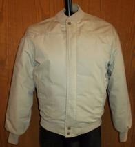 Vtg Field & Stream Beige Bomber Jacket Gordon Ferguson Quilt Lined Size ... - $24.70