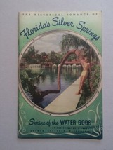 1948 Silver Springs Florida Travel Booklet Shrine of Wate Gods + Ride Ti... - $25.00