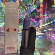 NEW IN BOX BITE discontinued Sold Out Lavender Jam Amuse Bouche Lipstick Full Sz image 1