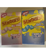 Starburst All Pink Strawberry & Blue Raspberry Drink Mix To Go 12 Sticks... - $9.89