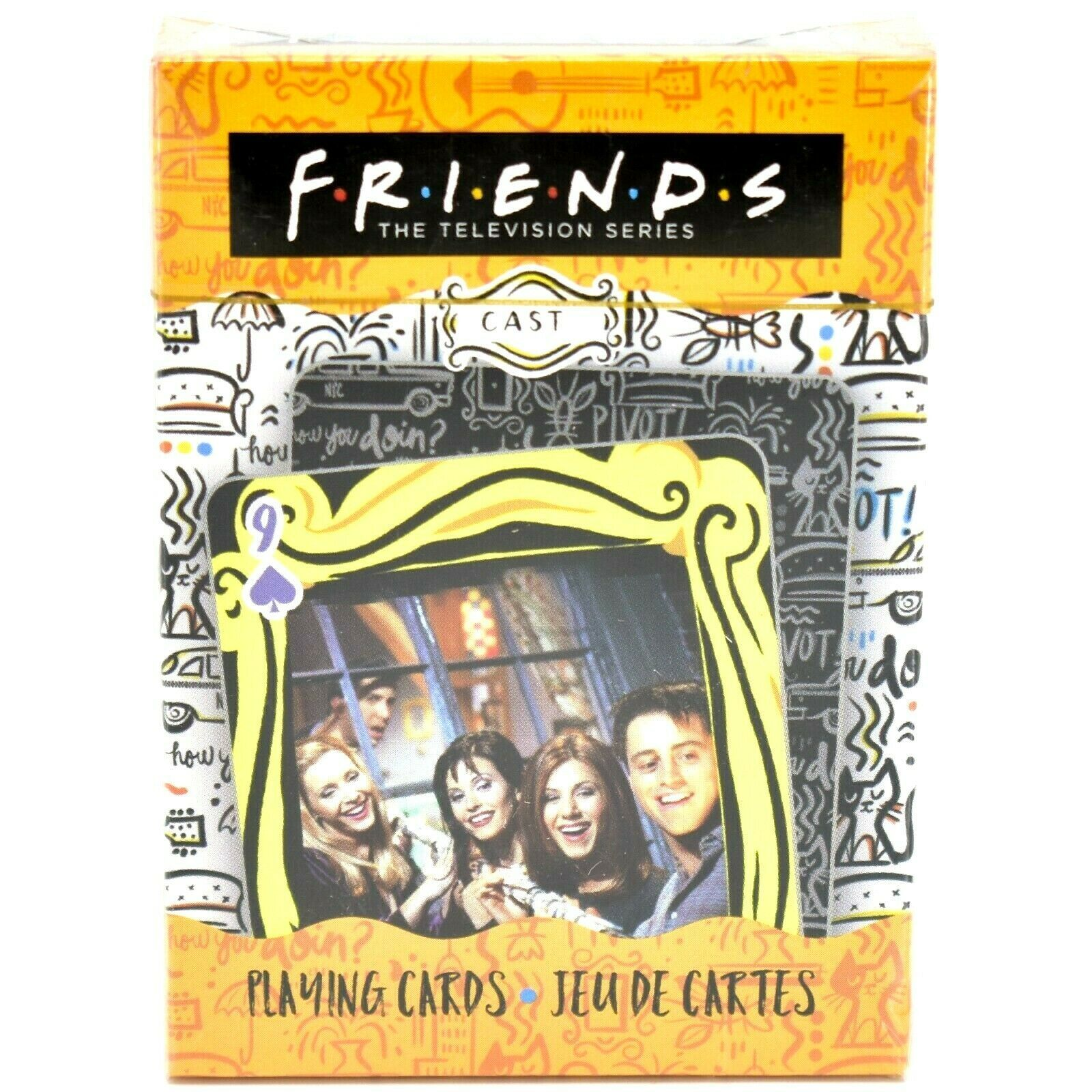 Aquarius Friends Television TV Show Theme Playing Card Deck