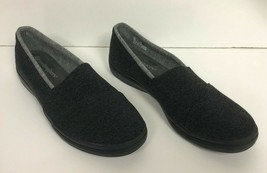 Grasshoppers By Keds Slip On Sneakers Charcoal Gray Ortholite Women's US 9 - $20.55