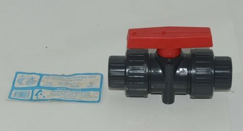American Granby Inc ITUV 75SE PVC Blocked True Union Ball Valve