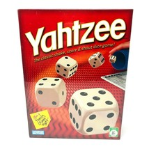 Hasbro YAHTZEE Classic Game with Dice, Cup, Score Pad, Chips, Shake and ... - $14.84