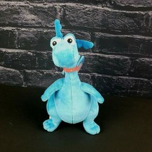 """Disney Just Play Blue Stuffy Dragon Doc McStuffins Wings Red Collar 9""""  - $18.80"""