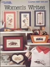 1 VTG 1987 Leisure Arts Leaflet #527 Women's Writes Leaflet Vintage  - $6.99