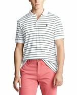 Polo Ralph Lauren Men's Classic Fit Stripe Polo Shirt White Sz XLT - $62.36