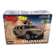 Revell Snap Tite Humvee 1:25 scale Military jeep car model kit army cann... - $49.45