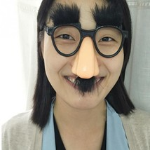 Funny Glasses Halloween Party Diy Decoration Photo Props Eyebrow Nose Mu... - $5.49