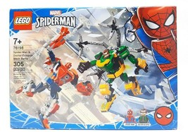 Lego ® 76198 Spider Man and Doctor Octopus Mech Battle - New Sealed  - $31.97