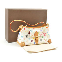 LOUIS VUITTON Monogram Multicolor Eliza Shoulder Bag M40098 LV Auth 7084 - $580.00