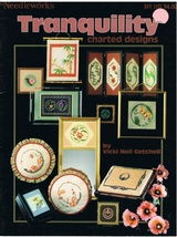Tranquility Charted Designs for Counted Cross Stitch Book No. 102 - $7.99