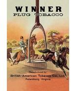 Winner Plug Tobacco - Art Print - $19.99+