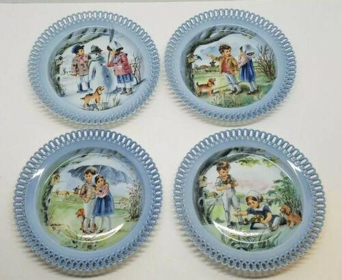"""1987 Bing /& Grondahl B/&G Children/'s Day Plate /""""The Little Gardeners/"""""""