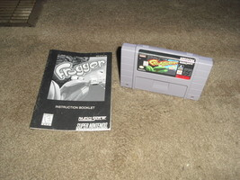SNES- Frogger (Nintendo 1992) - w/ Manual - $19.79