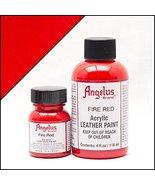 Angelus Acrylic Paint 4 Oz. (Fire Red) - $3.97