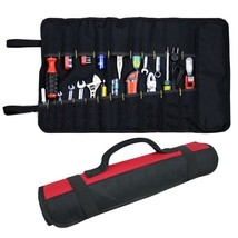 22 Pockets Hardware Tool Roll Pliers Screwdriver Spanner Carry Case Pouc... - £11.64 GBP